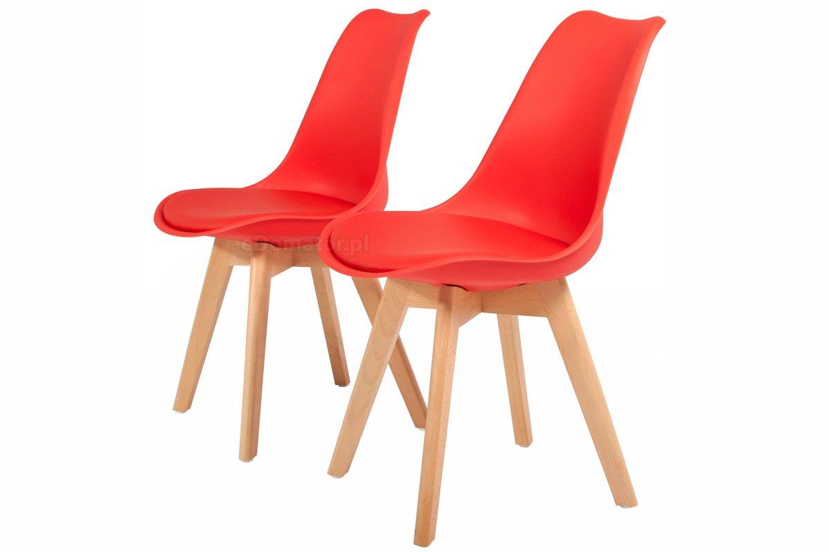 Krzesło z poduszka czerwone Warszawa