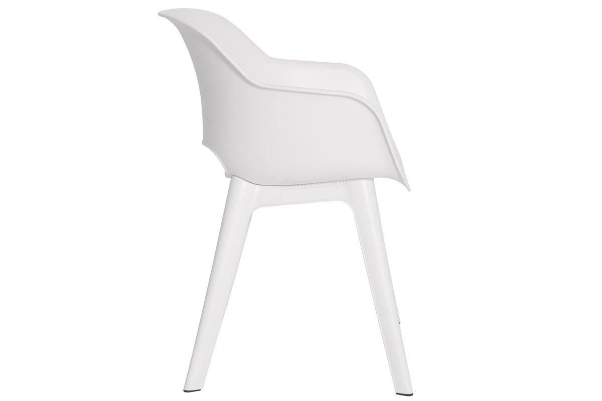 Krzesło Ogrodowe Akola Białe