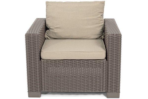 Fotel ogrodowy CALIFORNIA x 2 szt. - cappuccino