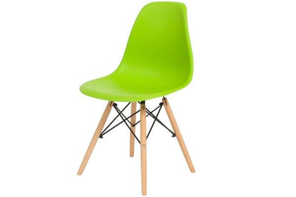 Krzesło do jadalni MEDIOLAN zielone - 4 szt.