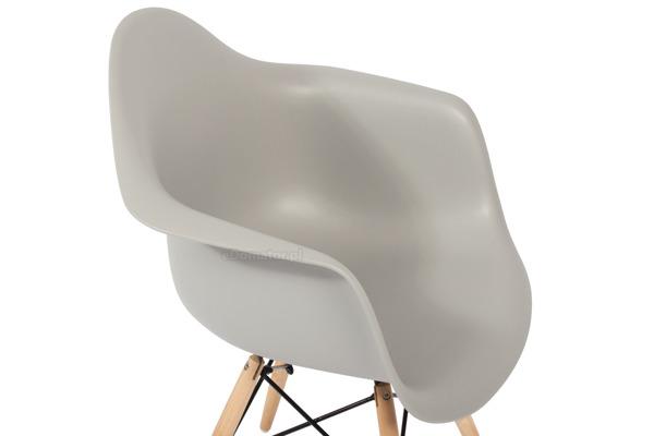 Krzesło nowoczesne FLORENCJA szare - 4 szt.