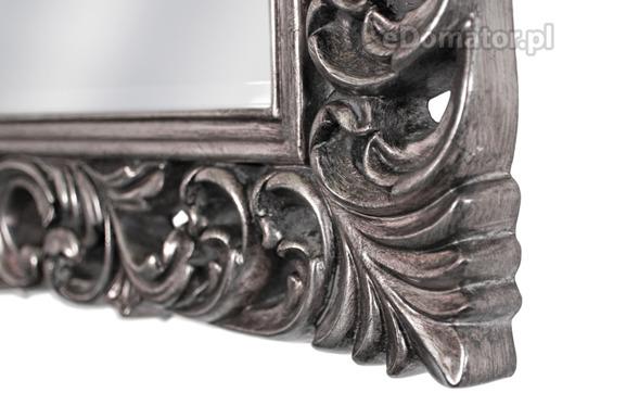 Lustro ozdobne GABRIELLE - srebrne