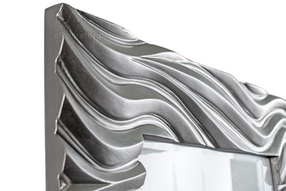 Lustro ozdobne GIOVANNI - srebrne