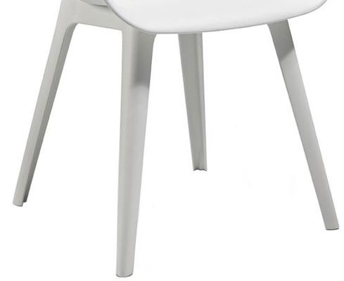 Nogi do krzesła AKOLA - białe