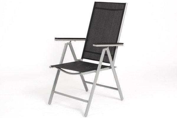 OUTLET - Krzesło ogrodowe MODENA 2 - Czarne
