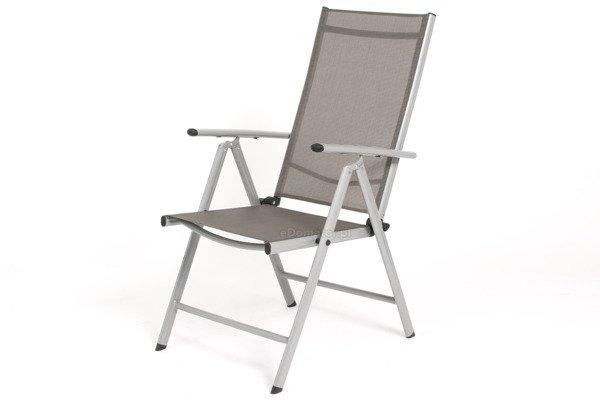 OUTLET - Krzesło ogrodowe MODENA 2 - srebrne