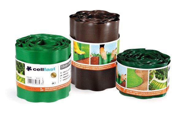 Obrzeże ogrodowe 15 cm x 9 m - zielone