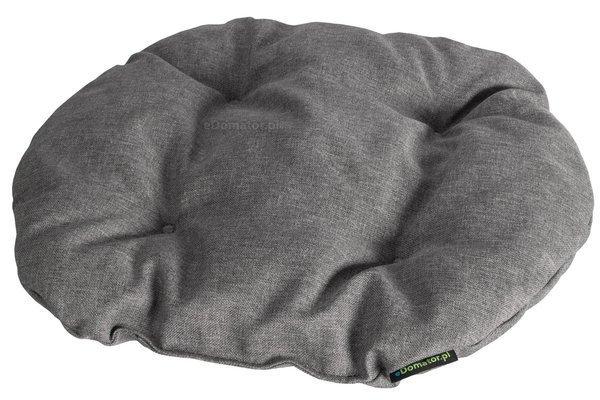 Poduszka na krzesło KAMILA 43 x 40 cm - jasnoszara