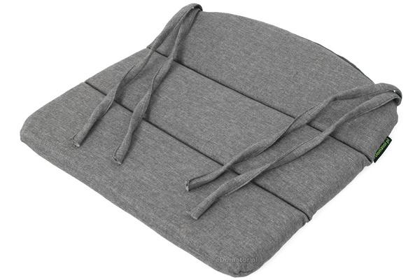 Poduszka na krzesło ogrodowe EVA 43x41 cm - jasnoszara