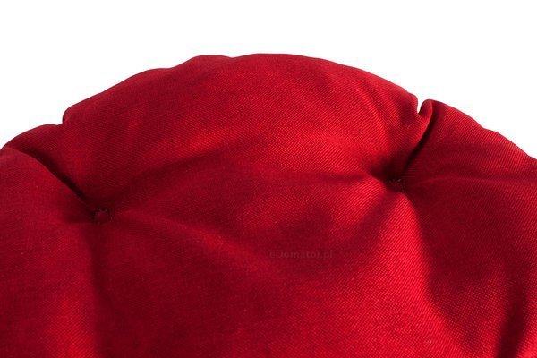 Poduszka okrągła na krzesło OFELIA 36 cm - czerwona
