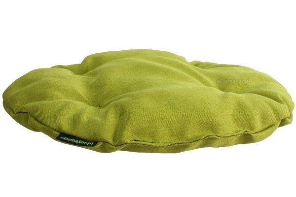 Poduszka okrągła na krzesło OFELIA 36 cm - limonka