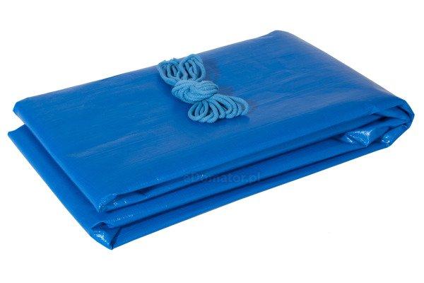 Pokrowiec na huśtawkę ogrodową GRACJA 230 x 120 x 170 cm - niebieski