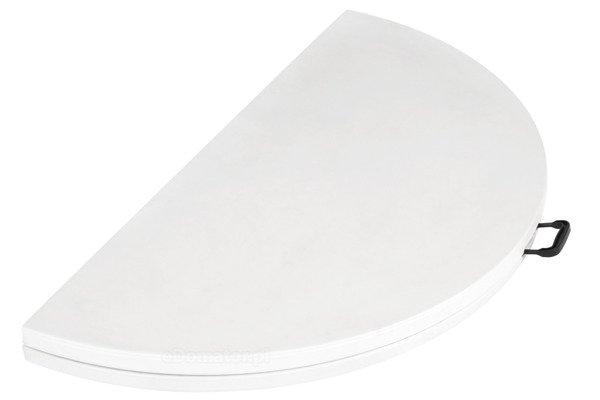 STÓŁ CATERINGOWY OKRĄGŁY Składany 160 cm Biały