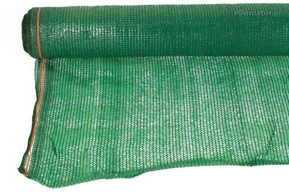Siatka cieniująca 1,5x25m 60 g/m2 55% UV Zielona
