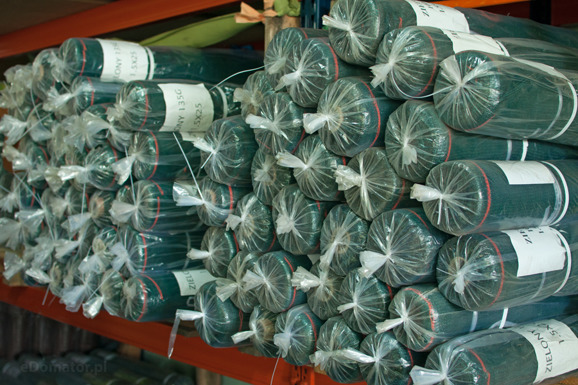 Siatka cieniująca 2,0x25m 100 g/m2 60% UV Zielona