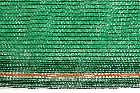 Siatka cieniująca 2,0x25m 60 g/m2 55% UV Zielona