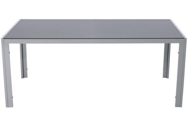 Stół ogrodowy aluminiowy WENECJA 180x90cm - srebrny