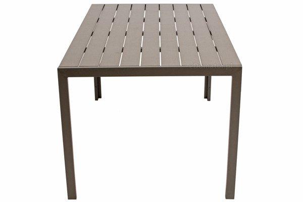 WYPRZEDAŻ - Stół ogrodowy MODENA  - brązowy