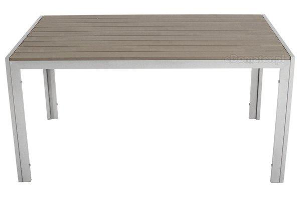 WYPRZEDAŻ - Stół ogrodowy MODENA  - srebrny