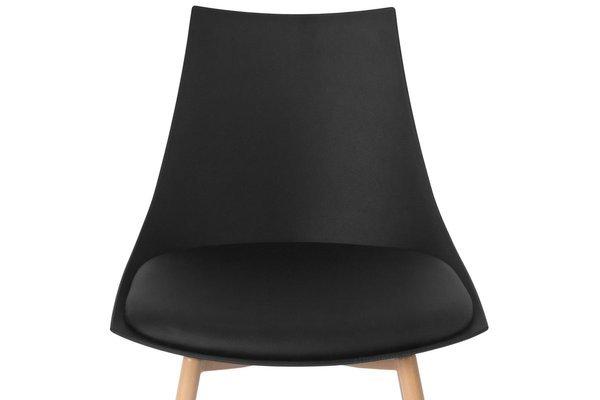 Zestaw 4-osobowy do jadalni - stół kwadratowy LUNA i 4 krzesła SARA