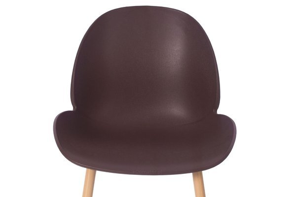 Zestaw 4 osobowych mebli do jadalni stół okrągły LUNA i 4 krzesła GALA