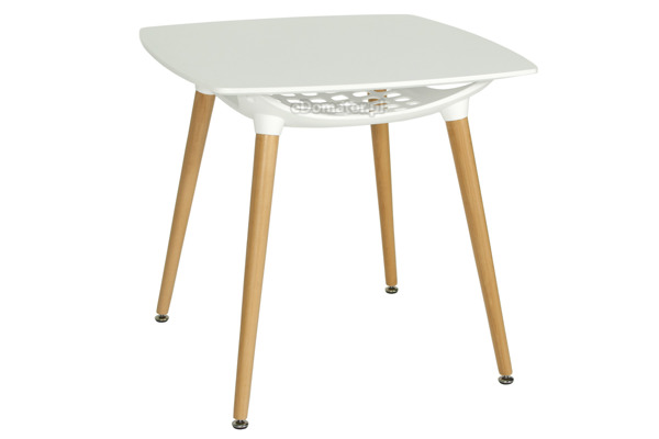 Zestaw mebli do jadalni FLORENCJA stół i 4 krzesła - biały