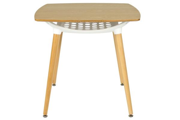 Zestaw mebli do jadalni FLORENCJA stół i 4 krzesła - brązowy